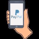 Paypal Transaction Send Money Receive Money Icon