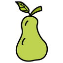 Pear Fruit Healthy Diet Icon