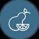 Pear Fruit Thanksgiving Icon