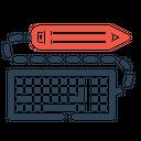 Pen Pencil Keyboard Icon