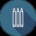 Pencil Pen Study Icon