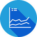 Periodic Growth Business Icon