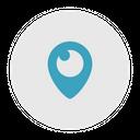 Periscope Social Media Logo Icon