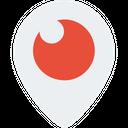 Periscope Social Media Logo Logo Icon
