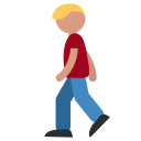 Person Hike Light Icon