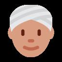 Person Wearing Turban Icon