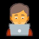 Clerk Coder Designer Icon