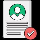 Personal Data Icon