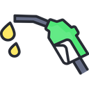 Petrol Injector Inject Fuel Icon