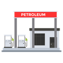 Petroleum Station Fuel Station Gas Station Icon