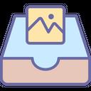 Photo Storage Icon