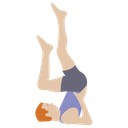 Physical Exercise Stretch Muscle Workout Icon