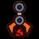 Pick Sample Robotic Arm Robot Icon