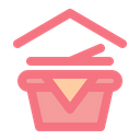 Picnic Indoor Stay At Home Icon