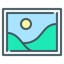 Picture Illustration Design Icon
