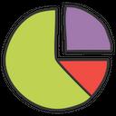 Pie Chart Pie Graph Statistical Presentation Icon