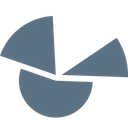 Pie Chart Diagram Icon