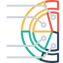 Pie Gauge Chart Icon