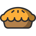 Pie Piecake Sweet Icon