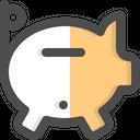 Piggy Bank Savings Funds Icon
