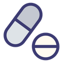 Pills Drugs Tablets Icon
