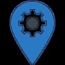 Pin Setting Seo Icon