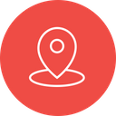 Pin Location Marker Icon