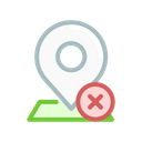 Pin Navigation Geo Icon