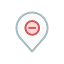 Pin Navigation Location Icon