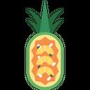 Pineapple Fried Rice Cuisine Food Icon