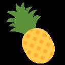 Pineapple Fruit Emoj Icon