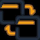 Pingback Exchange Transfer Icon