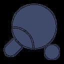 Bat Game Pingpong Icon