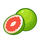 Pink Pomelo Fruit Healthy Icon