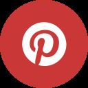 Pinterest Circle Logo Icon