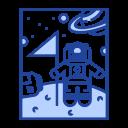 Pioneer Climb Planet Icon