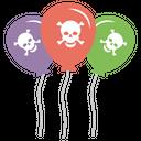Pirate Balloons Icon
