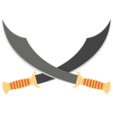 Pirate Sword Pirate Crossed War Weapon Icon