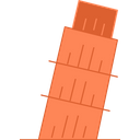Pisa Leaning Tower Of Pisa Tower Icon