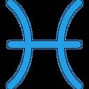 Pisces Zodiac Sign Icon