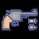 Revolver Gun Bullet Icon