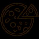 Pizza Junk Food Icon
