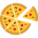 Pizza Party Food Icon