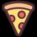 Pizza Slice Pizza Food Icon