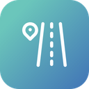 Place Direction Path Icon
