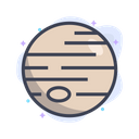 Planet Space Astronomy Icon