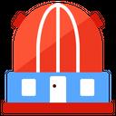 Observatory Planetarium Astrography Icon