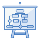 Planning Strategy Tactics Icon