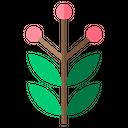 Leaves Leaf Floral Icon