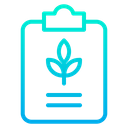 Plant Note Agriculture Note Farming Notes Icon